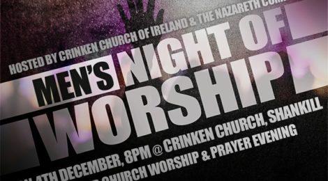 Men's Night of Worship 4th December 2017
